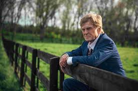 Old Man Robert Redford 2018